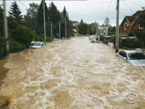 Catastrophic floods claim at least 25 lives in the Balkans