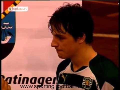 Hoquei Patins :: Entrevista a Gonçalo Alves - jogo Sporting x Turquel de 2011/12 II Div Sul