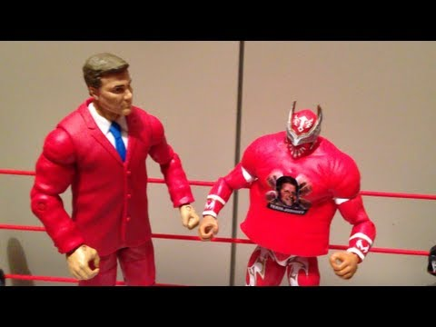 WWE ACTION INSIDER: John Laurinaitis BAF best of PPV figure review mattel elite