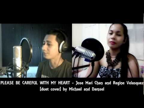 PLEASE BE CAREFUL WITH MY HEART - [duet cover] by Michael Azarraga and Damsel Dee