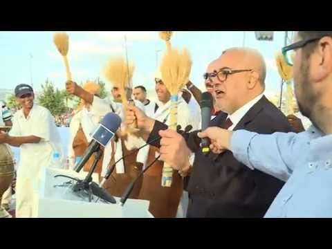 طنجة.. ابن كيران وفرقة الحصادة