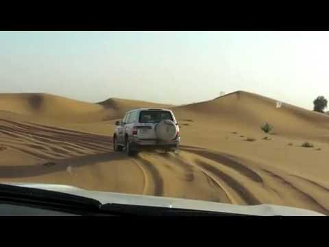 Sand Dune Driving in Dubai