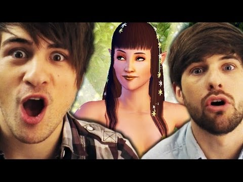 I'M A FAIRY?! (Gametime w/ Smosh) - YouTube, You guys liked our last two episodes of Lunchtime w/ Smosh where we played The Sims so much that today we're doing a full episode playing The Sims 3: Superna...