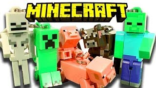 Minecraft Hangers 10 Blind Bags Creeper Zombie Skeleton
