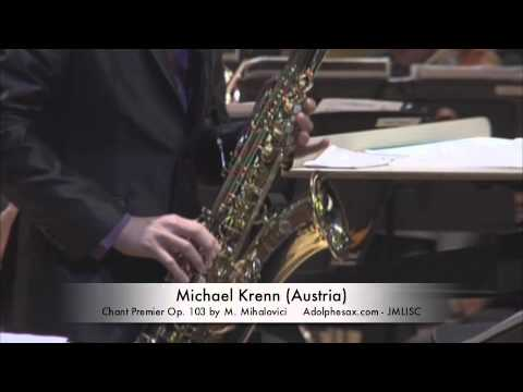 3rd JMLISC Michael Krenn (Austria) Chant Premier Op. 103 by M. Mihalovici