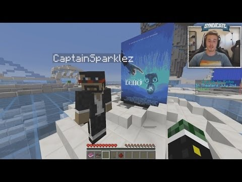 REMATCH! Minecraft: Earth To Echo Speed Run w/Syndicate & Captain Sparklez!