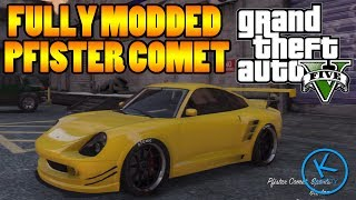 GTA 5 Fully Modified: PFISTER COMET