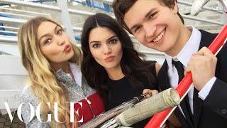 Kendall Jenner and Gigi Hadid's Selfie Stick Adventure   Vogue