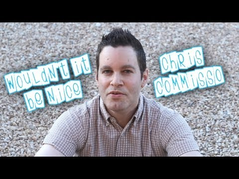 WOULDNT IT BE NICE - Beach Boys cover by Chris Commisso