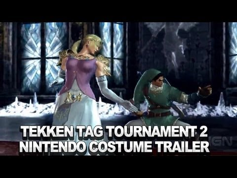 Tekken Tag Tournament 2: Wii U Edition  Nintendo Costume Trailer (Japanese)