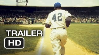 42 Official Trailer #1 (2012) Harrison Ford Movie