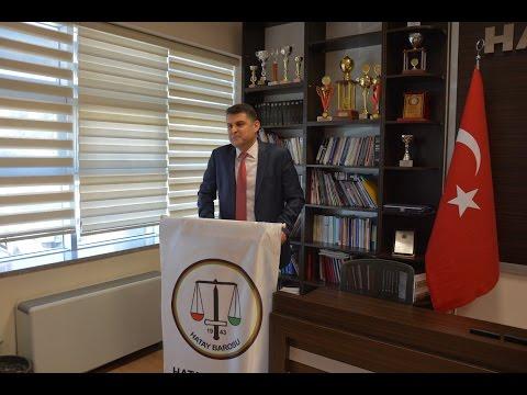 5 Nisan Avukatlar Haftası plaket töreni