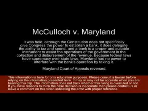 case brief mcculloch v maryland Home » ap us gov and politics » case briefs mcculloch v maryland printer friendly 1 mcculloch v maryland,  mcculloch vs maryland case study.