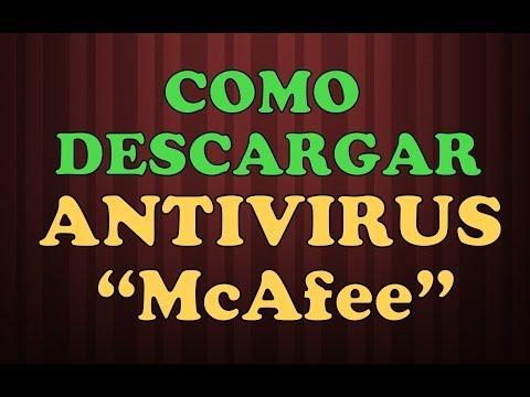 ANTIVIRUS MCAFEE GRATIS: MCAFEE  DESCARGAR GRATIS antivirus gratis en espanol Online