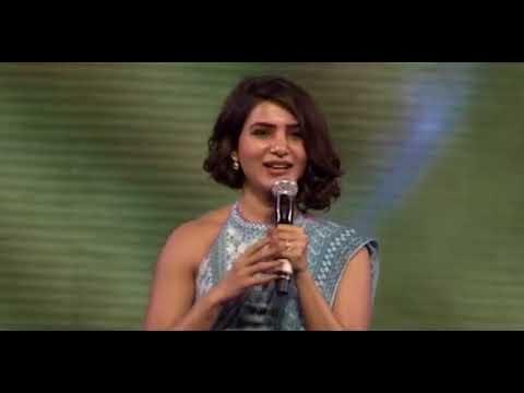 samantha Samantha Speech | Rangasthalam Vijayotsavam Event