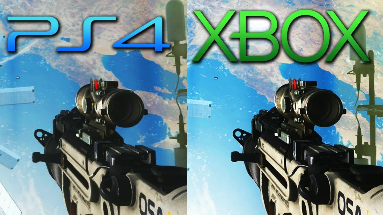 Xbox One Vs Ps4 Graphics Side By Side Ps4 Vs XBox One : Whic...