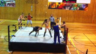 Taylor Adams, Mikey Legend & Chad Howard vs Johnny Idol, Dreamcatcher & Paul Sayers view on youtube.com tube online.