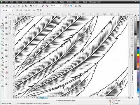 Secrets of Brushes CorelDRAW tutorial Session 2