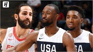 USA vs Spain - Full Game  Highlights - August 16, 2019   USA Basketball