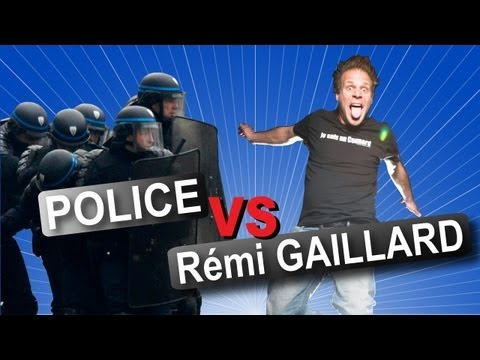 Thumbnail of video Rémi GAILLARD vs POLICE