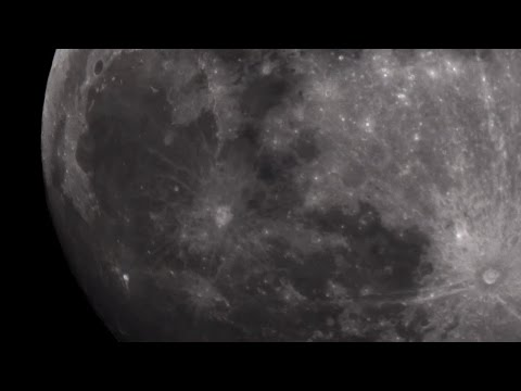 LIVE Backyard Astronomy - The moon close up