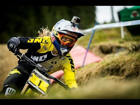 Rachel Atherton Dominates the Women's UCI Mountain Bike World Cup