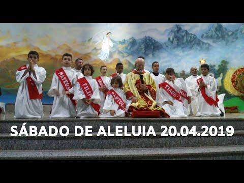 Celebração do Sábado de Aleluia | 20.04.2019 | Padre José Sometti | ANSPAZ