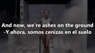 Miley CyrusWrecking BallEspañol & English Lyrics