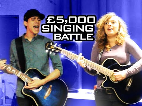 NEW Singing Battle: £5k Cash Prize - TheJumpOff 2013 [WK01: