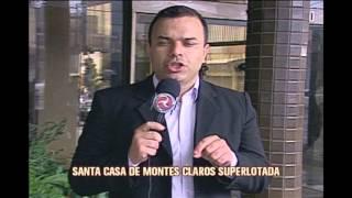 Superlota��o da Santa Casa de Montes Claros irrita pacientes