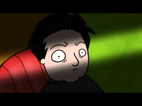 Ricky Gervais: Trip to Spain Monkey News Fan-Animation [HD]