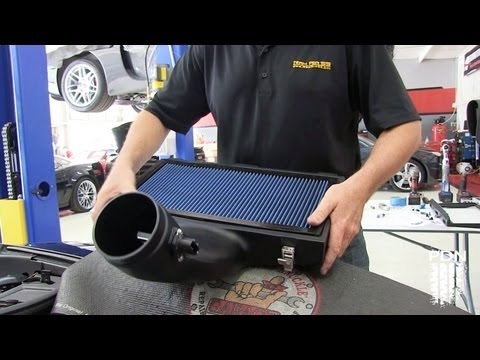 Installing a Ram Air SS on a C6 Z06 Vette