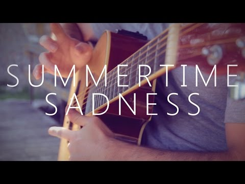 Summertime Sadness - Lana Del Rey (fingerstyle guitar cover by Peter Gergely)