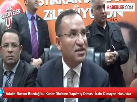 ADALET BAKANI BEKİR BOZDAĞ ZİLE'DE zileweb.com