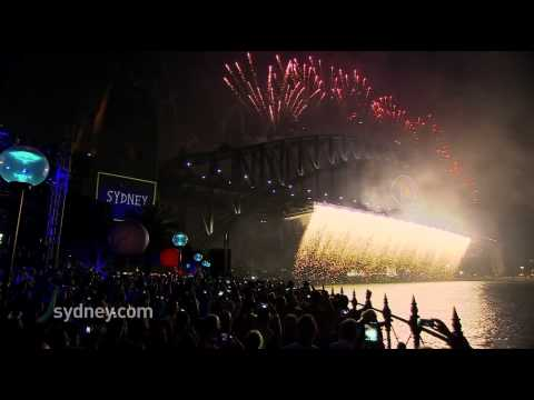 Welcome to 2014! Sydney New Year's Eve Fireworks