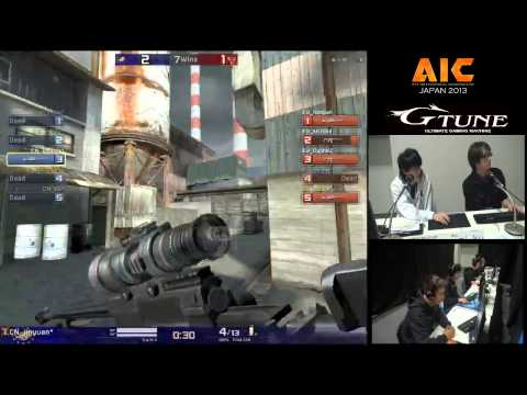 AIC 2013 - Sec,KILL [China] vs CrackHeads [EU] (set2)