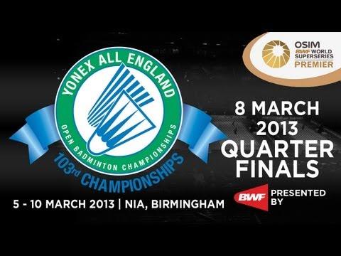 QF - WS - Saina Nehwal vs Wang Shixian - 2013 Yonex All England