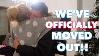 WE HAVE OFFICIALLY MOVED OUT!! TIME TO SAY GOODBYE TO OUR FAMILY! VLOGMAS DAY 5!
