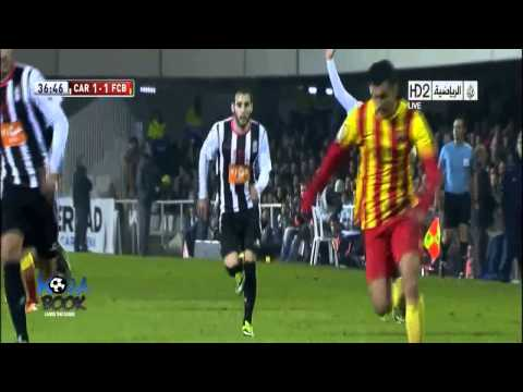 Copa del Rey: Cartagena 1-4 Barcelona (all goals - highlights - HD)