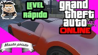 GTA V ONLINE: Subir Level Rápido (Como Ganhar RP Rápido