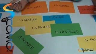 La familia en italiano