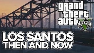 GTA 5: 7 Los Santos Sights Then And Now (GTA 5 Vs GTA San