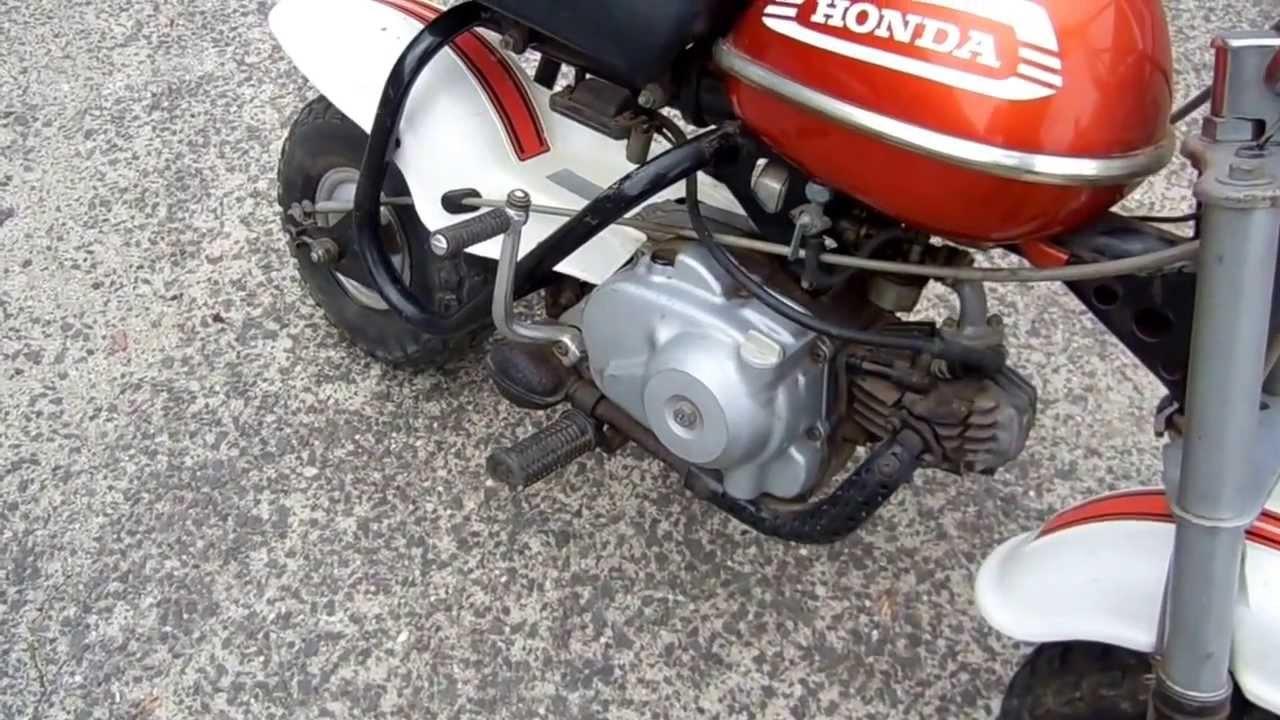 Honda 1970 QA50 Amigo Mini Trail Bike For Sale Z50 - YouTube