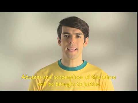 Kaká and ECPAT fight together against child sex tourism in Brazil