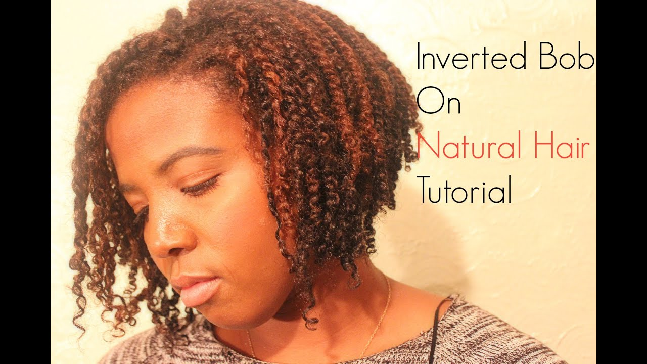 Inverted Bob On Natural Hair