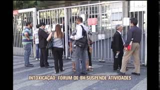 F�rum Lafayette suspende atividades por causa de intoxica��o de funcion�rios