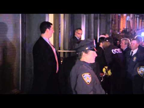 Body Bag Removed From Hoffman's NYC Building