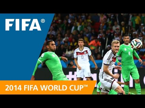 FIFA WC 2014 - Germany vs. Algeria - International Sign