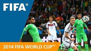 FIFA WC 2014 - Germany vs. Algeria - International Sign