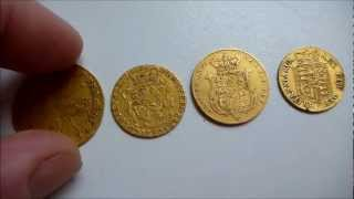 4 Gold Coins Found Metal Detecting For 2,500 Hours With